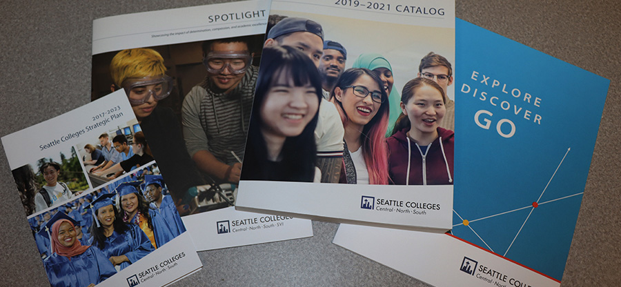Seattle Colleges publications collateral