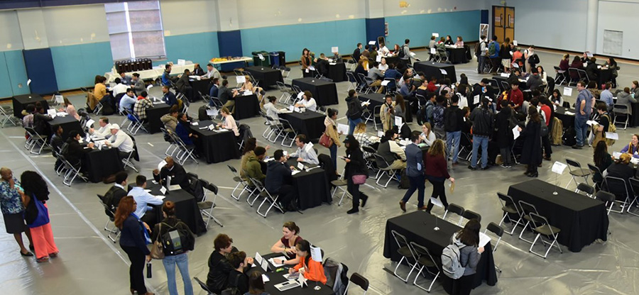 Speed Networking Event at Mitchell Activity Center, Seattle Central College