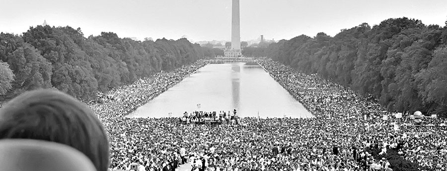 March on Washington for Jobs and Freedom iconic photo of the crowd