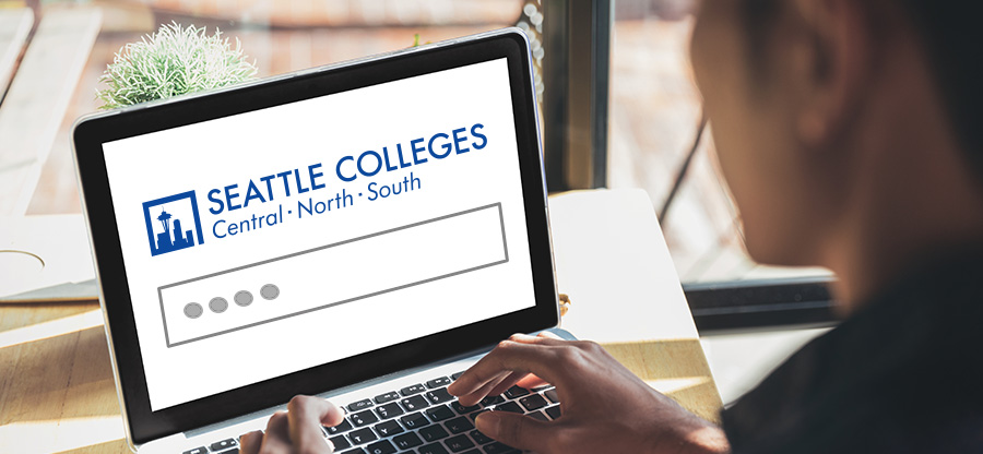 Inside Seattle Colleges login screen