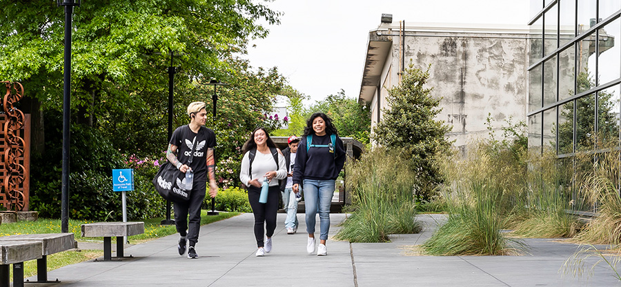 South Seattle students walking
