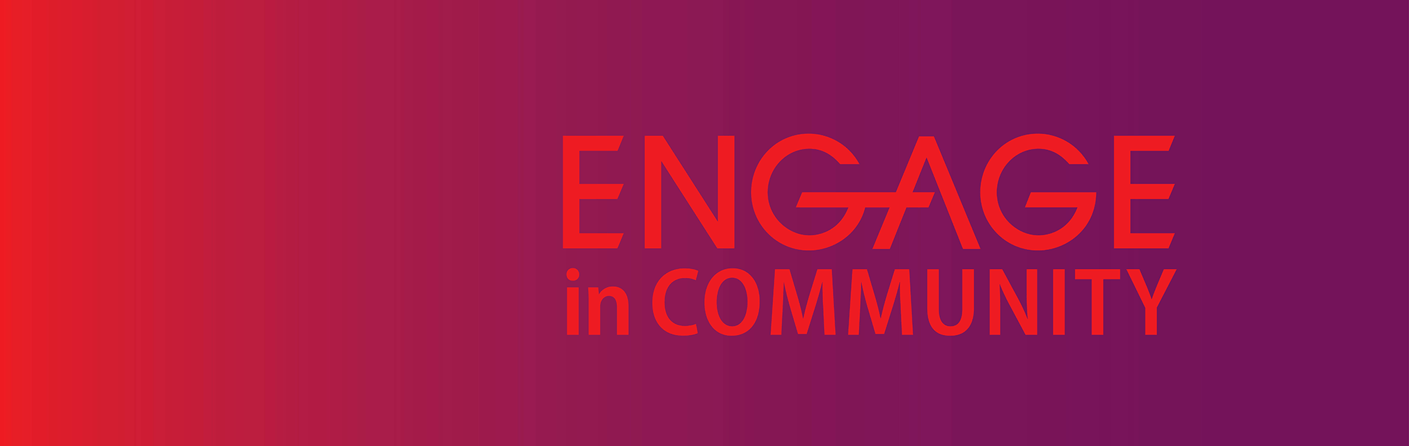 ENGAGE in Community 2020 logo for Convocation
