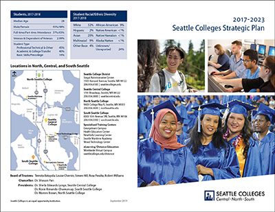 2017-2023 Seattle Colleges Strategic Plan
