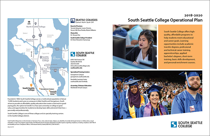 South Seattle College Operational Plan