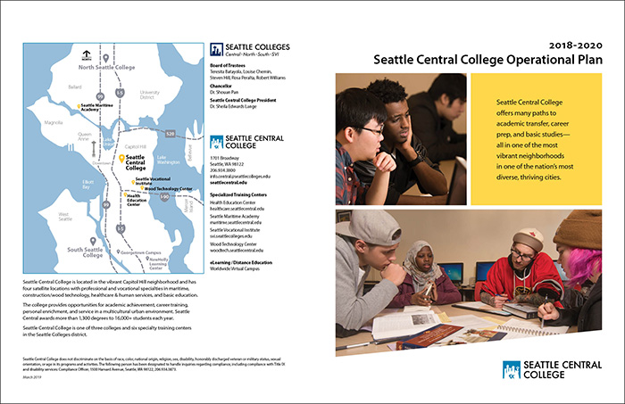 Seattle Central Operational Plan