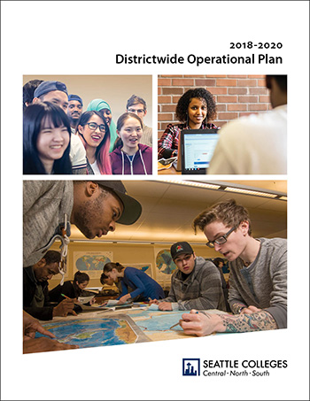 Seattle Colleges strategic plan cover image